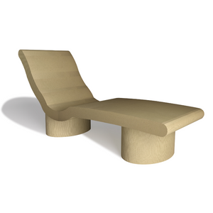 PCS Devon Heated Lounger - Tile/Render Ready Surface