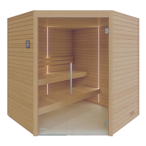 Varia Sauna Cabin for 2-4 People by Auroom