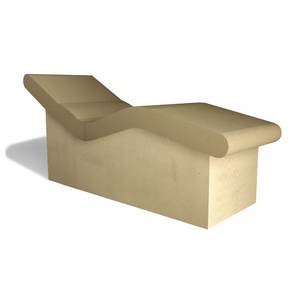 PCS Somerset Heated Lounger - Tile/Render Ready Surface