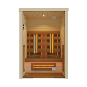 Premium Infrared Sauna Cabin for 2 People by Auroom