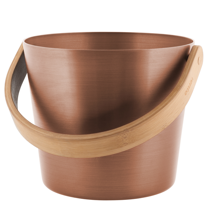 Copper Brown Sauna Pail
