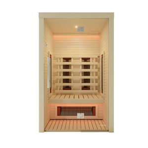 Infrared Sauna Cabin for 2 People by Auroom