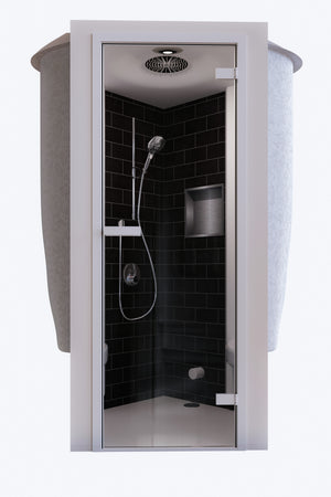 Zeta 650 Steam Shower Cabin