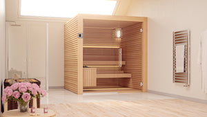 The Odense Traditional Sauna Cabin UK For 2-6 Adults