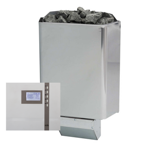 Steel Sauna Stove/Heater with Controller - Entry-Level Bundle