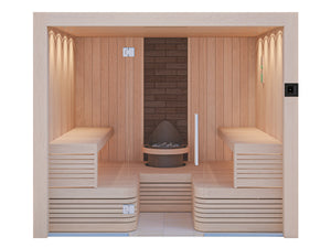 The Helsinki Traditional Sauna Cabin UK For 4-8 Adults