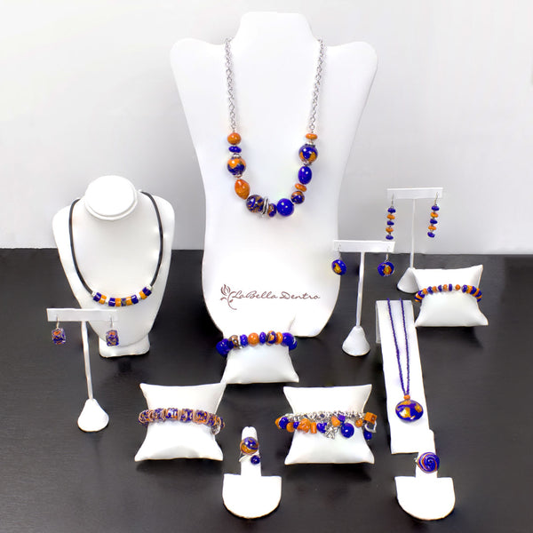 LaBellaDentro Orange & Blue GameDay Collection