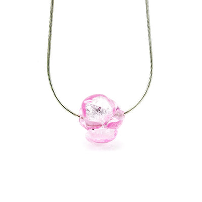 CHANEL – Sterling Silver and Murano Glass Flower Bud Set - www.LaBellaDentro.com