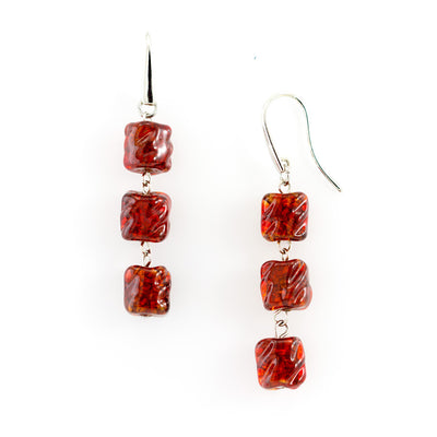 ESTER - Murano Glass Drop Jewelry Set - www.LaBellaDentro.com