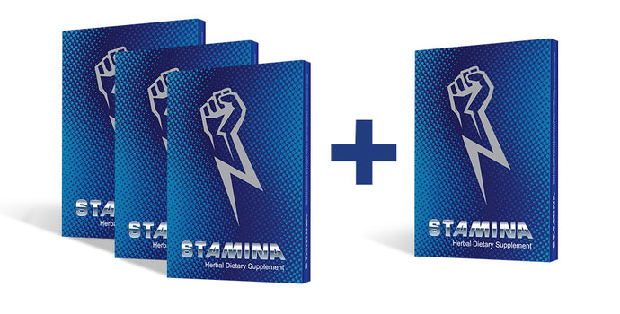 Buy 3 Single Packets of Stamina and get 1 FREE Packet.