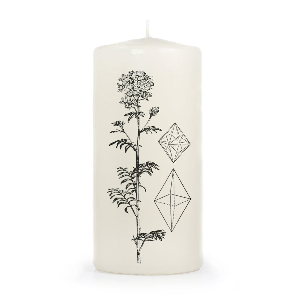 Crystal Elements Pillar Candle