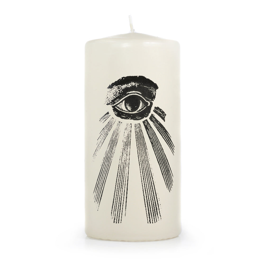 Eye of Providence Pillar Candle