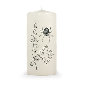 Nature Walk Pillar Candle