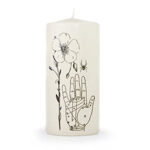 Palmistry Pillar Candle