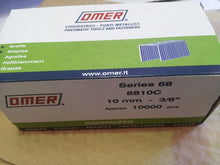 Load image into Gallery viewer, Omer 68 Series Galvanised Staples, 4mm-14mm