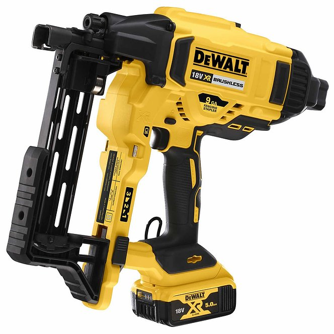 NEW TOOL!! Dewalt DCFS950 Cordless Fencing Stapler