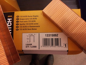 Bostitch A58 15mm, A35 18mm & A78 22mm Carton Staples