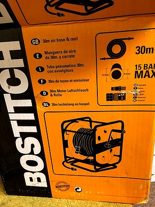 Bostitch CPACK30 30m Hose and Reel