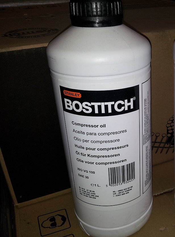 Bostitch ISOVG100 Compressor Oil