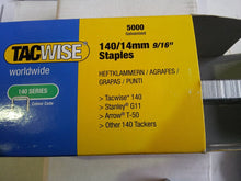 Load image into Gallery viewer, Tacwise 140 / A11 Type Galvanised Staples, 8mm-14mm
