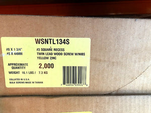 WSNTL134S QuikDrive Collated Screws