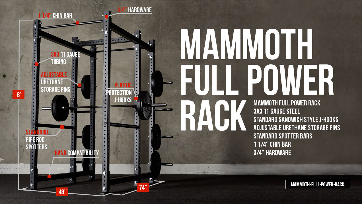 American barbell power rack