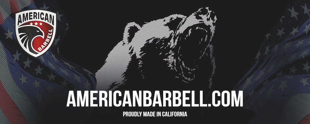 American barbell gym banners