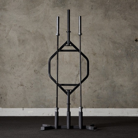 6 Bar Vertical Storage - American Barbell Gym Equipment