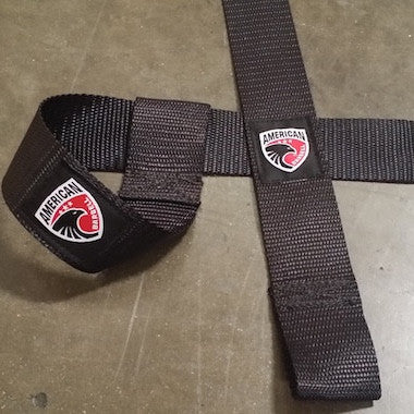 Weight Lifting Strap (Pair) - American Barbell Gym Equipment