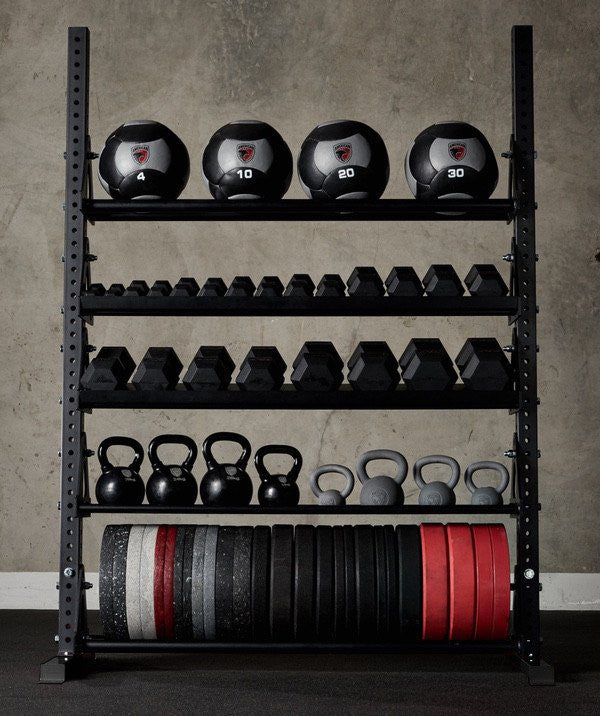 American barbell storage rack