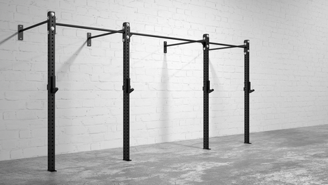 American Barbell Rig 14' Wall Mount - American Barbell Gym Equipment