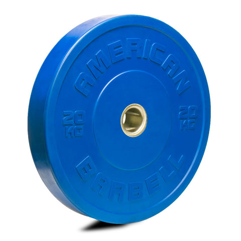 American Barbell Color KG Sport Bumper Plates - American Barbell Gym Equipment