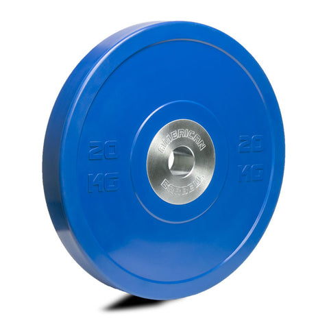 American Barbell Color KG Training Plates - American Barbell Gym Equipment