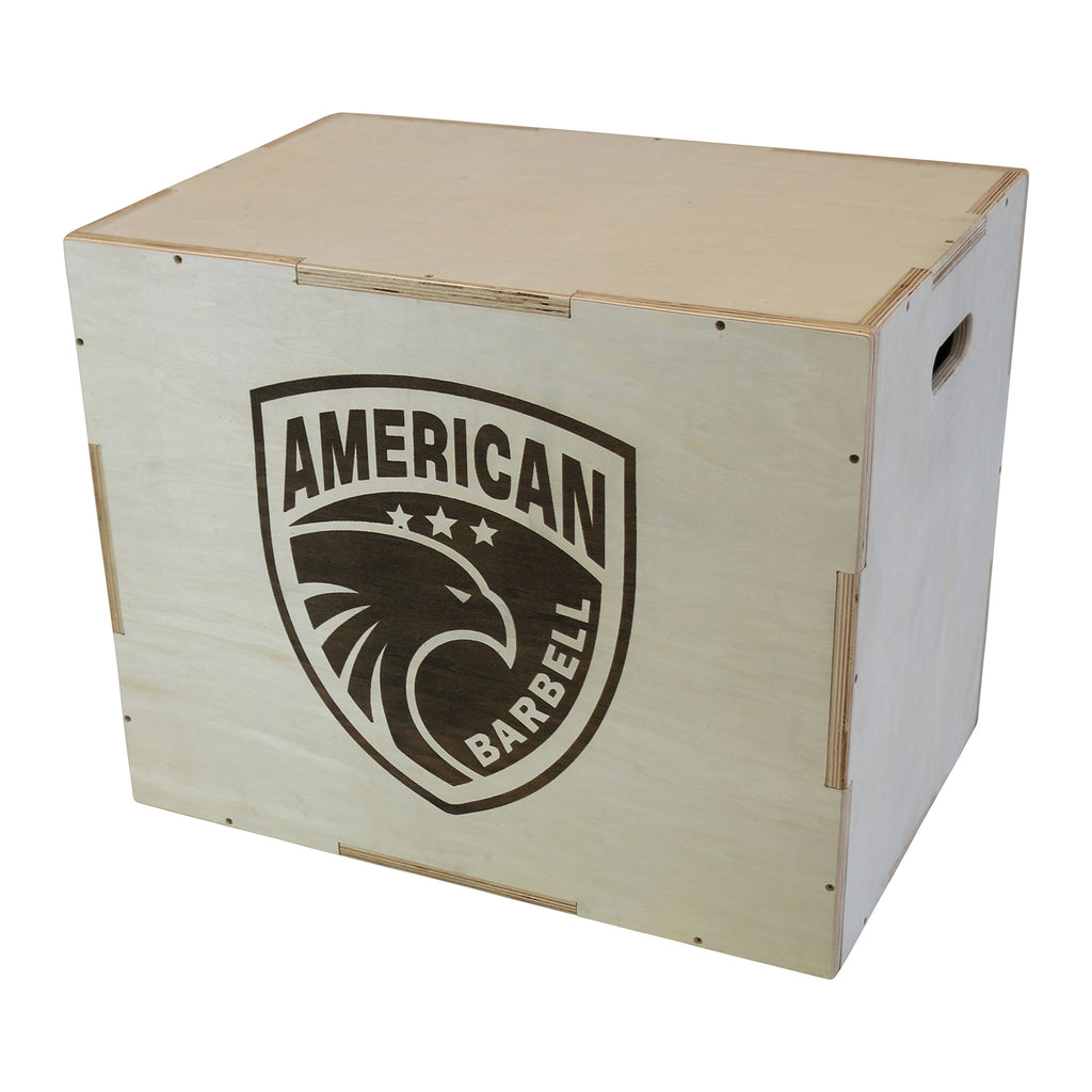 American Barbell Wood Plyo Box - 30x24x20