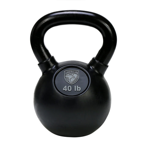 American Barbell Rubber Coated Kettlebells LBS - American Barbell Gym Equipment