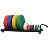 Horizontal Rolling Bumper Storage - American Barbell Gym Equipment