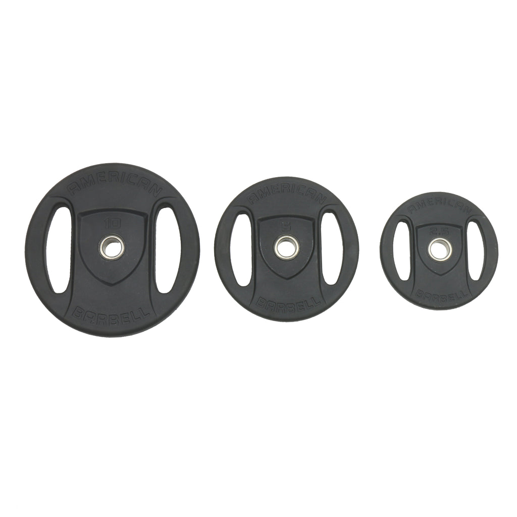 "American Barbell Club Strength Plates (1"" DIAMETER HUB/INSERT)"