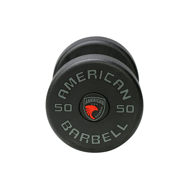 Series I Commercial Grade Urethane Dumbbells - American Barbell Gym Equipment