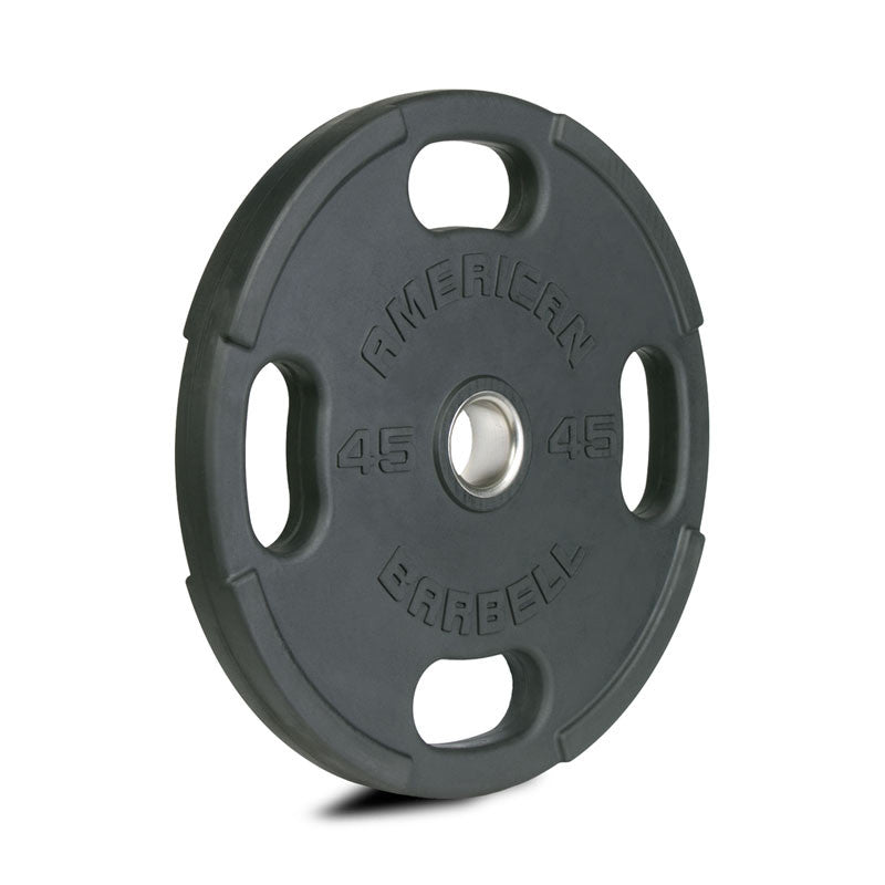 American Barbell Rubber Olympic Plates - American Barbell Gym Equipment