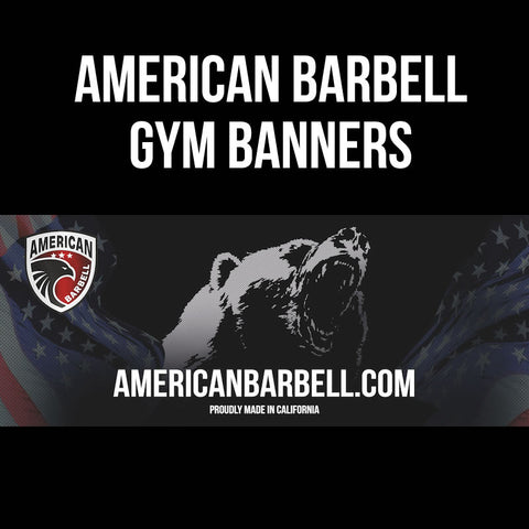 American Barbell Gym Banners - American Barbell Gym Equipment