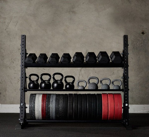 American Barbell Storage Rack 4' - American Barbell Gym Equipment