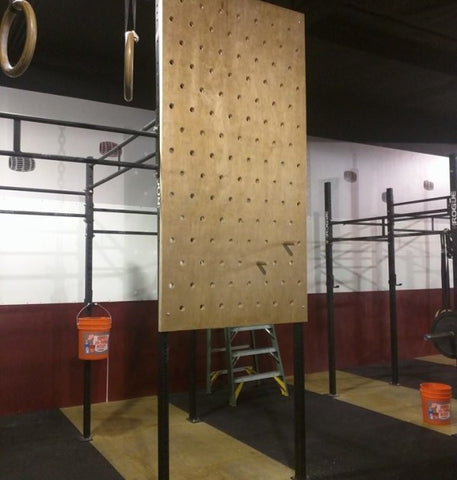Peg Board and Rock Wall - American Barbell Gym Equipment