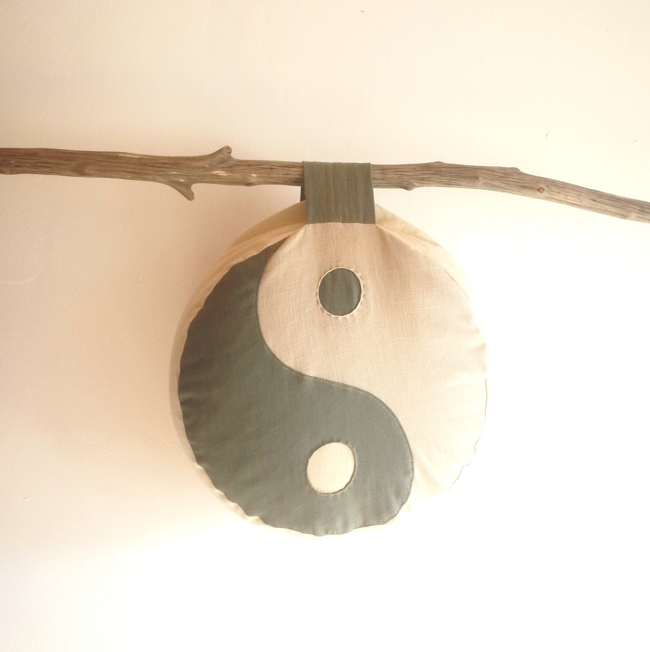 PRIVATE OM EYE PILLOW YIN YANG