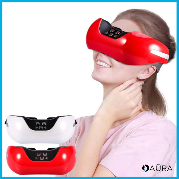 Aũra™  - Masque de massage 3D - Rouge ou Blanc