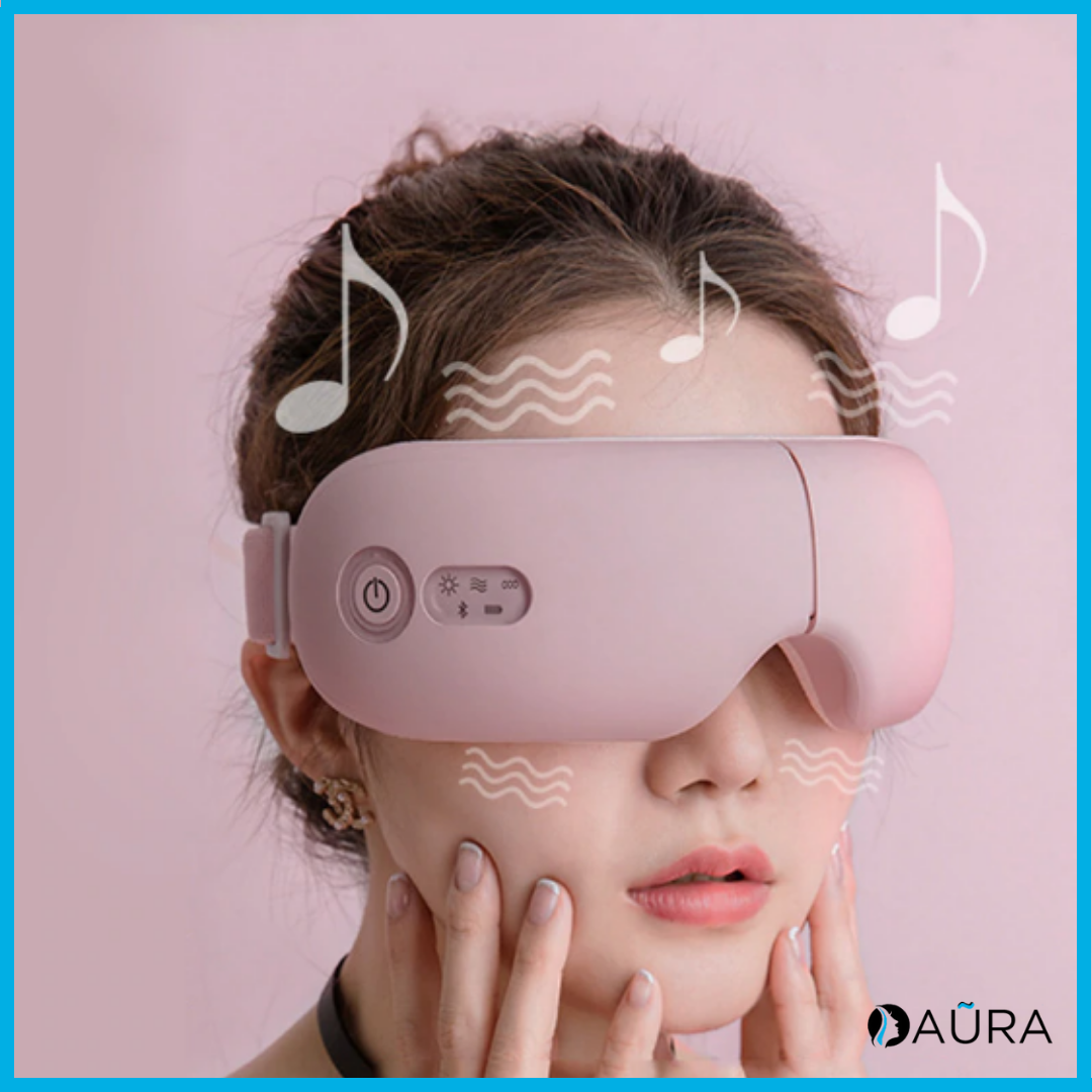 Aũra™  - Masque de massage Rose Bluetooth