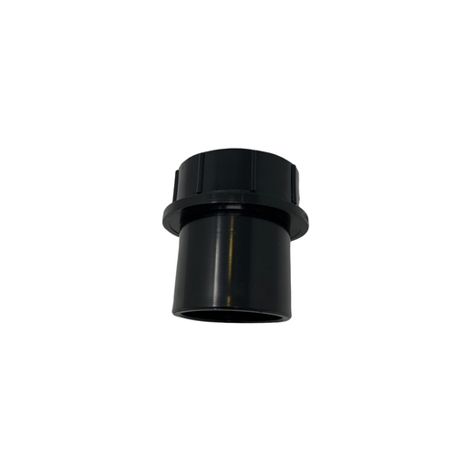 male trap adapter with nut and washer