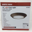 Signature LED 10 inch Mahogany Bronze Flush Mount Ceiling Light