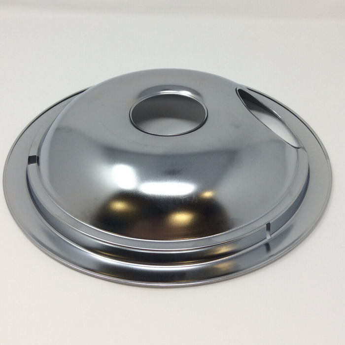 "bottom view 8"" Electric Range Drip Pan"