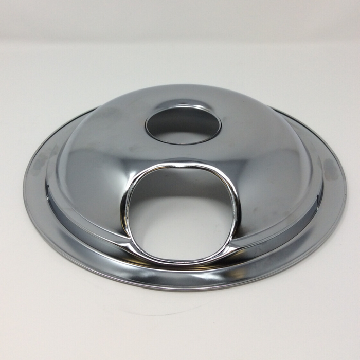 "side view 8"" Electric Range Drip Pan"