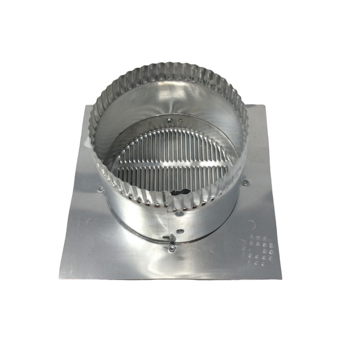 "EAVE 4"" Vent 6"" Square Flange 3"" Collar"